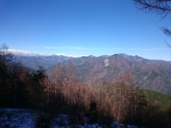 この冬は山でのトレーニングも多めにしている